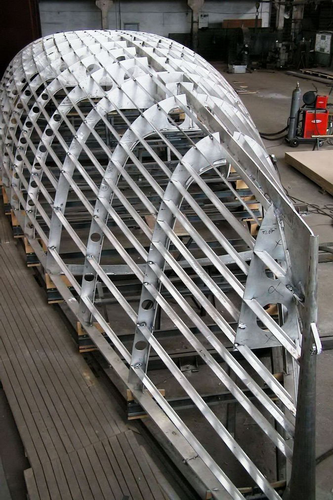 Marine aluminum construction
