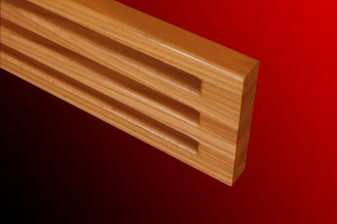 Wood vents joinery