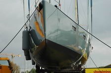 futuna70 bow aluminum super yacht